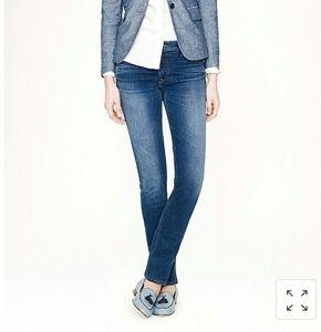 J.CREW stretch Matchstick Jeans size 28